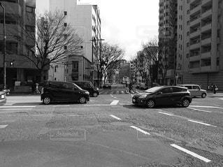 市街の通りの写真・画像素材[2932172]