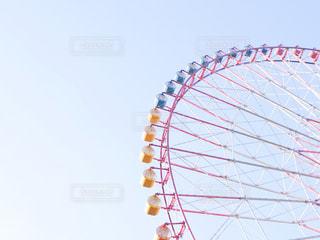 空と観覧車の写真・画像素材[2929595]