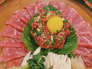 韓国旅行で食べたユッケの写真・画像素材[2942351]