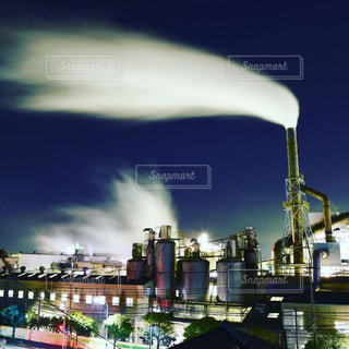 工場夜景の写真・画像素材[3009499]