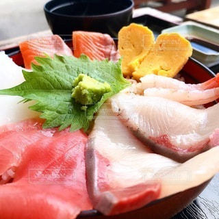 海鮮丼の写真・画像素材[3505775]