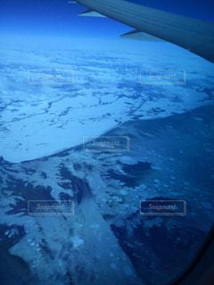 雪に覆われた山脈の写真・画像素材[2939445]