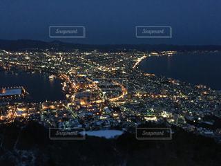 函館の夜景の写真・画像素材[2941288]