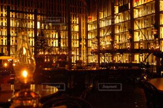 ランプの灯りの写真・画像素材[2941292]