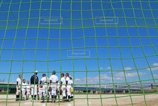 5人以上,空,集合写真,野球
