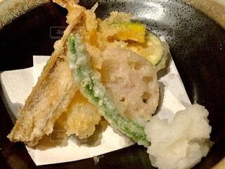 日本料理の天麩羅の写真・画像素材[4020915]