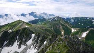 北アルプスの美しい風景の写真・画像素材[2956949]