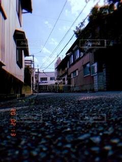街の通りの眺めの写真・画像素材[2951021]