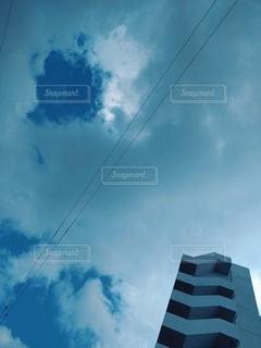 空の雲の群の写真・画像素材[2951024]