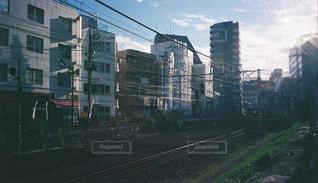 快晴の朝の写真・画像素材[1695490]