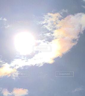 虹色の雲の写真・画像素材[2961855]