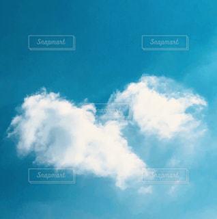 青空ハートの写真・画像素材[2974364]