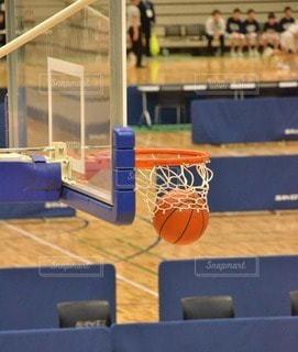 バスケットゴールの写真・画像素材[2962997]