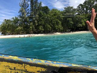 別れ パプアニューギニアにての写真・画像素材[2963837]
