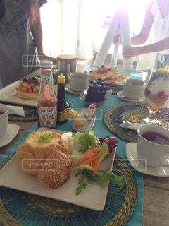 バリ島の朝の写真・画像素材[1107245]