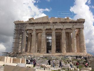 パルテノン神殿の写真・画像素材[2974297]