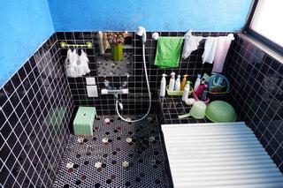 昔ながらのお風呂場の写真・画像素材[4049941]