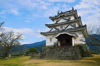 宇和島城の写真・画像素材[2983036]