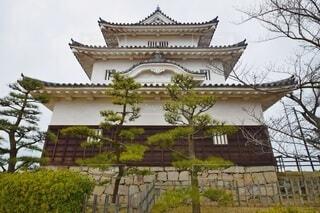 丸亀城 天守閣の写真・画像素材[4438724]
