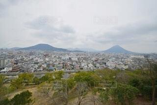 丸亀城 三の丸からの景色の写真・画像素材[4440841]