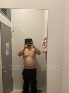 ダイエット1か月目の写真・画像素材[2982082]