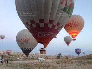 気球の写真・画像素材[115870]
