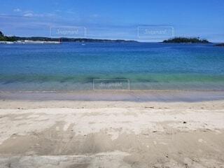 大島の海の写真・画像素材[4039895]