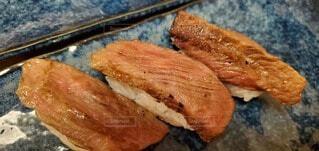 黒毛和牛のにぎり寿司🍣の写真・画像素材[4593805]
