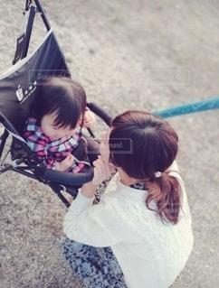 ママと娘の写真・画像素材[3007400]