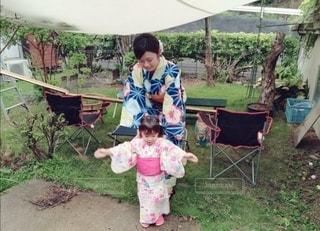 ママと娘の写真・画像素材[3007457]