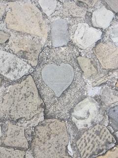 ハート石の写真・画像素材[2992585]