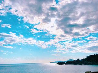 輝く岬の写真・画像素材[3007695]