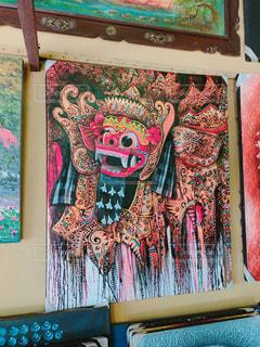 獅子舞のアートの写真・画像素材[2990961]