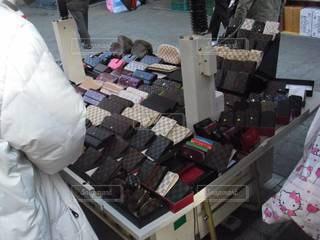 韓国の某市場にての写真・画像素材[3111272]