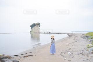 見附島の写真・画像素材[3163044]