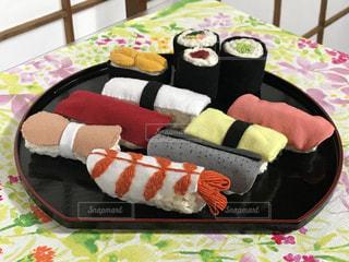 フエルトでお寿司を作りました。の写真・画像素材[3234135]