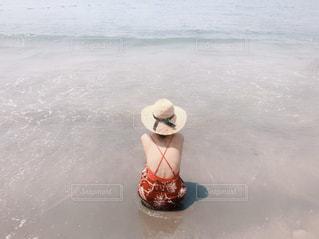 砂浜の写真・画像素材[2998201]