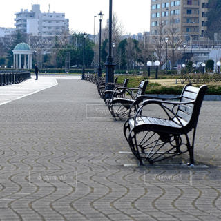 港の公園の写真・画像素材[3003061]