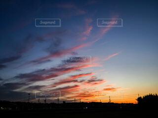 夕焼けの写真・画像素材[3960206]