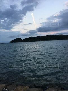 夕方の空の写真・画像素材[4943514]