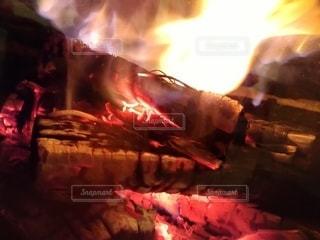 炎の写真・画像素材[3047427]