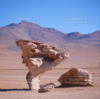 アンデスの荒野の写真・画像素材[3025844]
