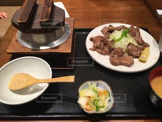食べ物牛タン定食の写真・画像素材[3010315]