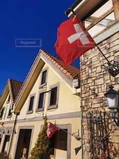 スイスの村の写真・画像素材[3013266]