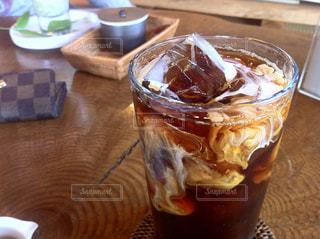 アイスコーヒーの写真・画像素材[211346]