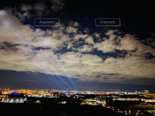 シェラトン眺めるディズニーシーの夜景の写真・画像素材[3014165]