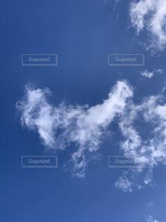 ハート雲の写真・画像素材[3016762]