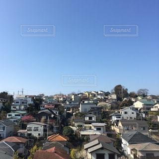 都市の高層ビルの写真・画像素材[1046585]