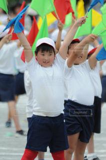 運動会の小学生の写真・画像素材[1227797]