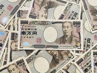 1万円札の写真・画像素材[3023521]